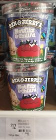 Ben & Jerry's 458mL Netflix & Chill'd