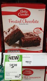 Betty Crocker 480g Brownie Mix Frosted Chocolate