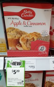 Betty Crocker 500g Muffin Mix Apple & Cinnamon