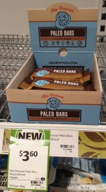 Blue Dinosaur 45g Bar Paleo Banana Bread