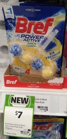 Bref 100g Power Active Juicy Lemon
