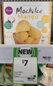 Buono 156g Mochi Ice Mango