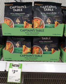 Captain's Table 100g Pita Crackers