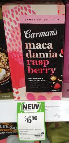 Carman's 400g Muesli Macadamia & Raspberry