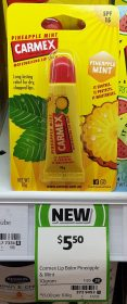 Carmex 10g Lip Balm Pineapple Mint