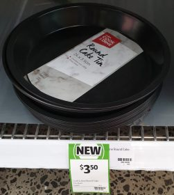 Coles 1 Pack Cook & Dine Cake Tin Round 24cm