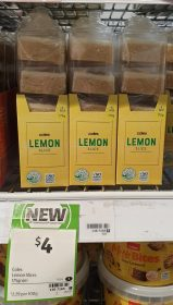 Coles 175g Slice Lemon
