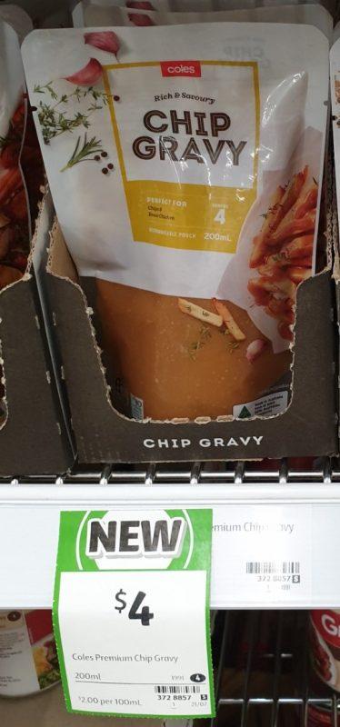 Coles 200mL Gravy Chip