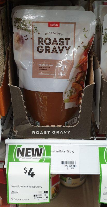 Coles 200mL Gravy Roast