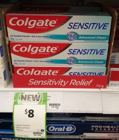 Colgate 110g Toothpaste Sensitive Advanced Clean