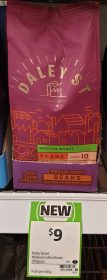 Daley St 200g Coffee Beans Medium Roast
