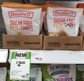 Double 'D' 90g Sugar Free Butter Candy Drops