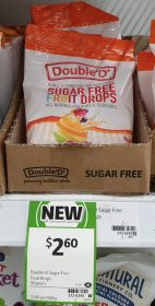 Double 'D' 90g Sugar Free Druit Drops