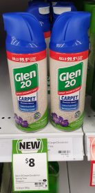 Glen 20 354g Disinfectant Spray Carpet