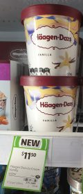 Haagen Dazs 457mL Ice Cream Vanilla