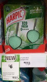 Harpic 2 Pack Eco Fresh Eucalyptus