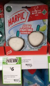 Harpic 2 Pack Hook Bleach Lime