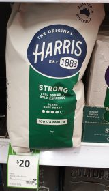 Harris 1kg Coffee Beans Strong