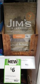 Jim's Jerky 50g Original