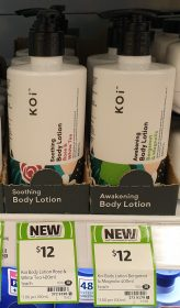 KOi 400mL Body Lotion Rose & White Tea, Bergamot & Magnolia