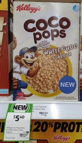 Kellogg's 350g Coco Pops White Choc Flavour