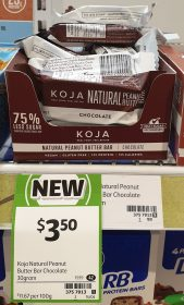 Koja 30g Bar Peanut Chocolate
