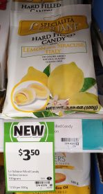 Le Italiane 100g Candy Filled Candy Lemon