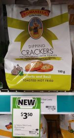 Le Italiane 100g Crackers Dipping