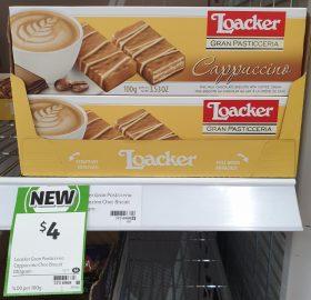 Loacher Gran Pasticceria 100g Chocolate Biscuits Cappuccino
