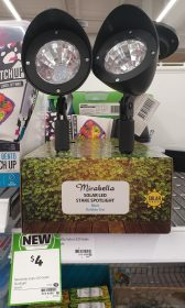 Mirabella 1 Pack Stake Spotlight Solar Led