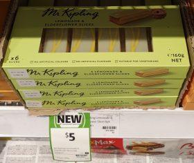 Mr Kipling 160g Slices Lemonade & Elderflower