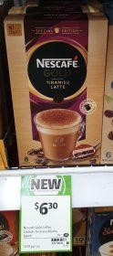 Nescafe 139g Gold Latte Tiramisu