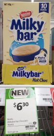 Nestle 165g Milkybar Hot Choc