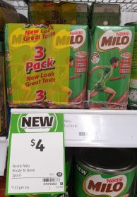 Nestle 3 X 200mL Milo Ready To Drink