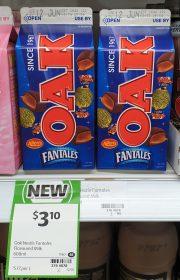 Oak 600mL Flavoured Milk Allen's Fantales