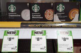 Starbucks 12 Pack Coffee Capsules Cappuccino, Caramel Macchiato, Espresso