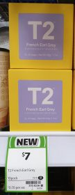 T2 50g Black Tea French Earl Grey