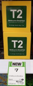 T2 50g Black Tea Melbourne Breakfast