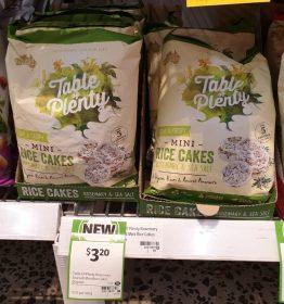 Table Of Plenty 60g Rice Cakes Mini Rosemary & Sea Salt