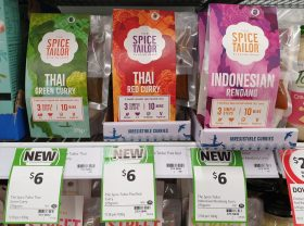 The Spice Tailor 275g Curry Thai Green, Red, Indonesian Rendang