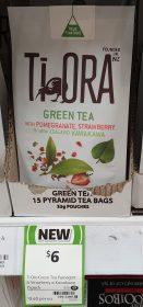 Ti Ora 33g Tea Green