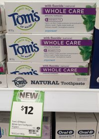 Tom's Of Maine 113g Toothpaste Whole Care