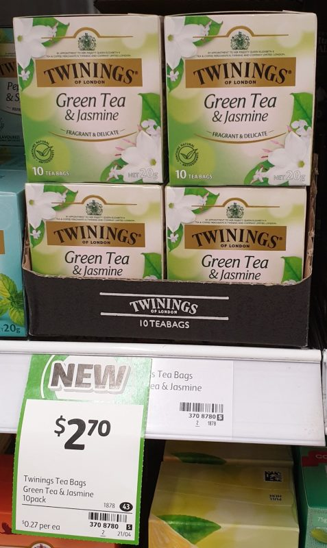 Twinings 20g Green Tea & Jasmine