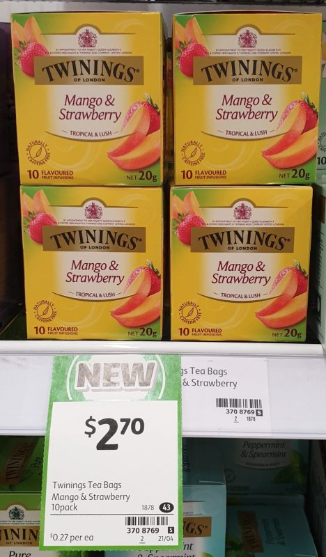 Twinings 20g Mango & Strawberry