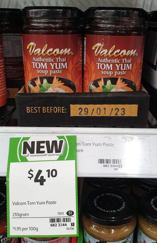 Valcom 210g Paste Soup Tom Yum