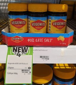 Vegemite 235g 40% Less Salt