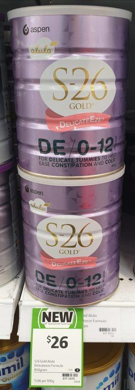 Aspen 850g S 26 Gold Delicate Eze DE 0 12 Months
