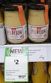 Coles 200g Mustard Dijon Beer Flavoured