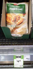 Coles 340g Pizza Bread Pull Apart