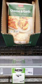 Coles 340g Pull Apart Cheese & Garlic